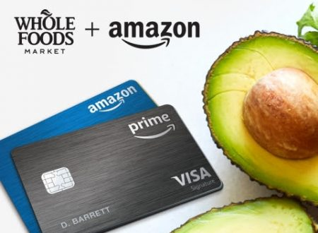 Prime Members Now Earn 5% Back When Shopping at Whole Foods Market Using the Amazon Prime Rewards Visa Card