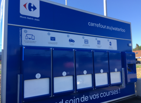 Carrefour Belgium lancia il primo driver food automatizzato mobile