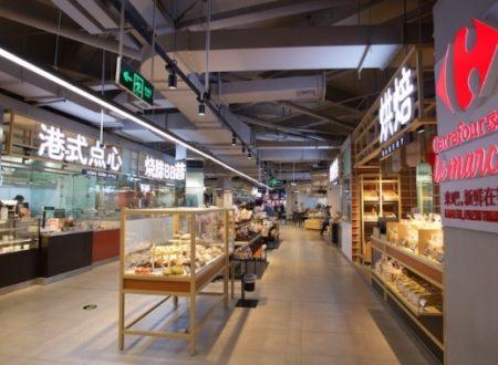 """Carrefour China in collaborazione con Tencent apre il primo smart shop """"Le Marche"""" a Shangai"""