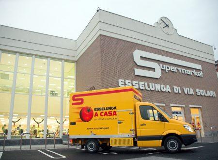 Il servizio di consegna a domicilio di Esselunga arriva a Roma