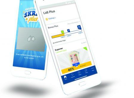 Una nuova App consente di risparmiare ai clienti LIDL in Danimarca