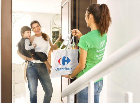 Carrefour e Supermercato24 arrivano in Toscana e Campania in 1 ora